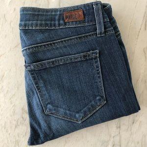 Paige Crop Skinny Jeans